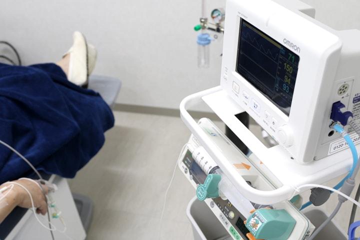 静脈内鎮静法による無痛治療